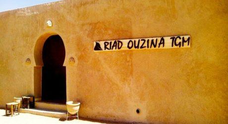 riad en el desierto de marruecos