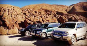 rutas por el desierto de marruecos